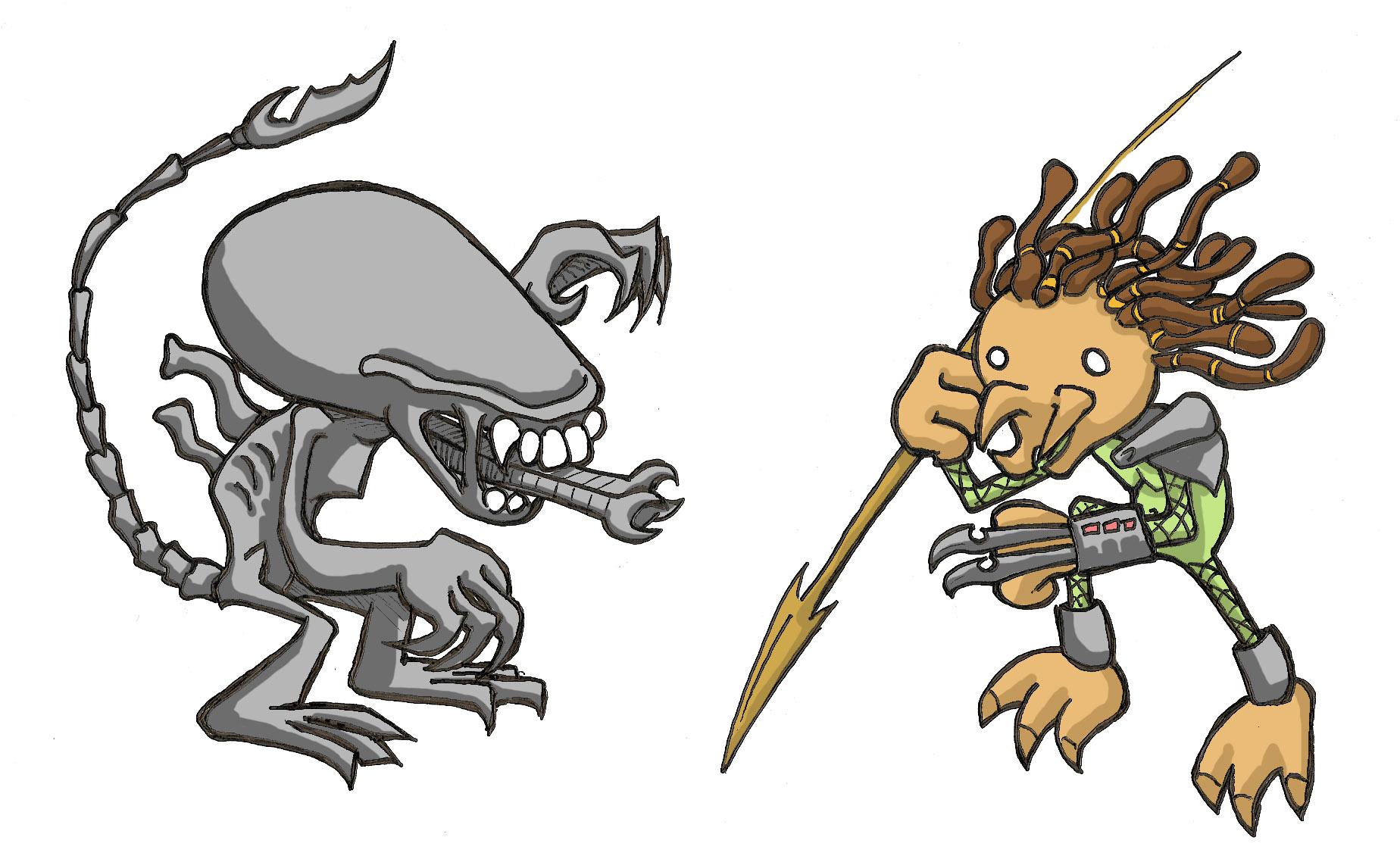 Alien vs. Predator: The Musical | the amnesia-naut
